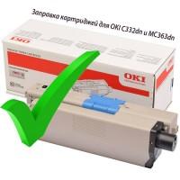 Заправка картриджей для OKI C332dn и MC363dn