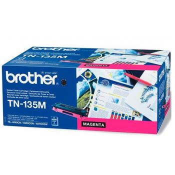 Заправка картриджа Brother TN-135M Пурпурный для HL-4040CN/HL-4050CDN/HL-4070CDW/DCP-9040CN/DCP-9042CDN/DCP-9045CDN/MFC-9440CN/MFC-9450CDN/MFC-9840CDW