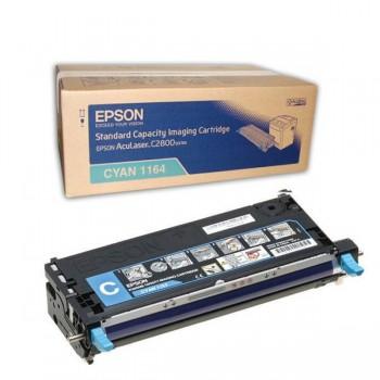 Заправка картриджа Epson C13S051164 голубой для AcuLaser C2800