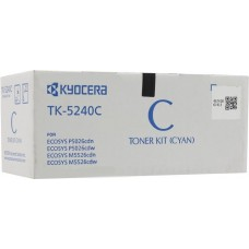 Заправка картриджа  Kyocera TK-5240 (cyan) синий для P5026 cdn / cdw, M5526 cdn / cdw
