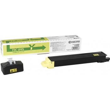 Заправка картриджа  Kyocera TK-895 желтый для FS-C8020/C8025/C8525MFP