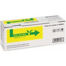 Заправка картриджа  Kyocera TK-5140 (yellow) желтый для ECOSYS P6130CDN / M6030CDN / M6530CDN