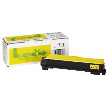 Заправка картриджа  Kyocera TK-550 желтый для FS-C5200DN