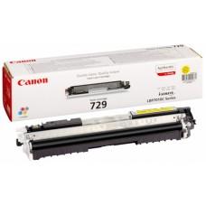 Заправка картриджа CANON 729 желтый для LBP7010C/LBP7018C