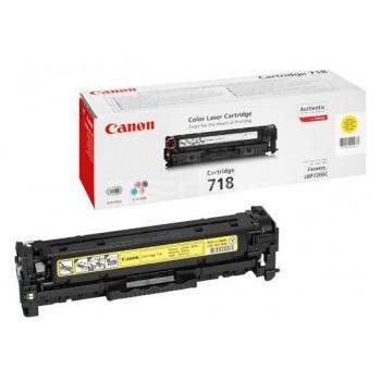 Заправка картриджа CANON 718 желтый для LBP7200C/MF8330/MF8350/MF8360/MF8540