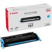 Заправка картриджа CANON 707 голубой для LBP5000/LBP5100