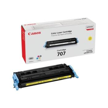 Заправка картриджа CANON 707 желтый для LBP5000/LBP5100
