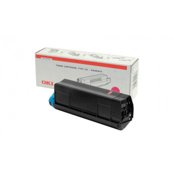 Заправка картриджа  OKI 42127489/42127406 5k пурпурный для C5100/C5200/C5300/C5400