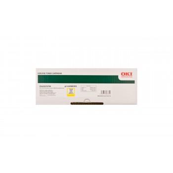 Заправка картриджа  OKI 43381921/43381905 2k желтый для C5600/C5700