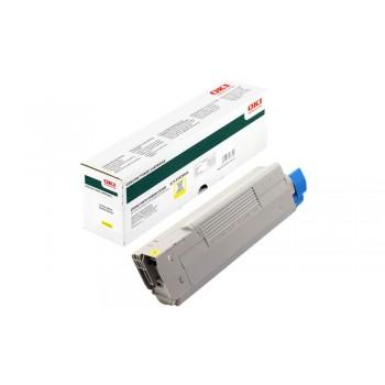 Заправка картриджа  OKI 43324441/43324421 5k желтый для C5800/C5900/5550MFP