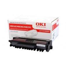 Заправка картриджа  OKI 01239901/01240001 5.5k для  MB260/MB280/MB290