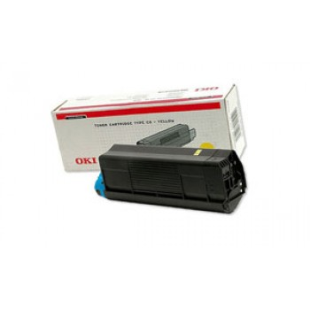Заправка картриджа  OKI 42804574/42804513 3k желтый для C3100/C3200