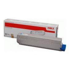 Заправка картриджа  OKI 44844519/44844507 10k голубой для C831/C841