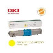 Заправка картриджа  OKI 44973541/44973533 1.5k желтый для C301/C321/MC332/MC342