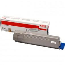 Заправка картриджа  OKI 44643001 7.3k желтый для C801/C821