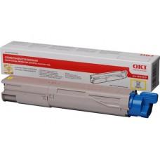 Заправка картриджа  OKI 43459345/43459329 2.5k желтый для C3300/C3400/C3450/C3600
