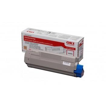 Заправка картриджа  OKI 43872322/43872306 2k пурпурный для C5650/C5750