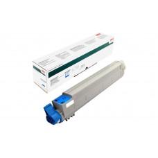 Заправка картриджа  OKI 42918963/42918915 15k голубой C9600/C9650/C9800/C9850