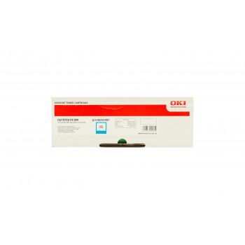 Заправка картриджа  OKI 44315307 6k голубой для C610