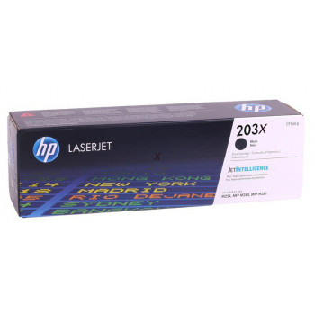 Заправка картриджа HP CF540X черный black (203X) для HP Color LaserJet Pro M254 / M280 /M281