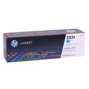 Заправка картриджа HP CF541X (203X) голубой cyan для HP Color LaserJet Pro M254 / M280 /M281