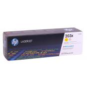 Заправка картриджа HP CF542X (203X) желтый yellow для HP Color LaserJet Pro M254 / M280 /M281