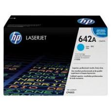 Заправка картриджа HP CB401A (642A) голубой cyan для HP CLJ CP4005