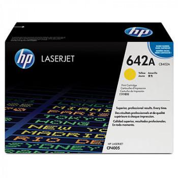 Заправка картриджа HP CB402A (642A) желтый yellow для HP CLJ CP4005