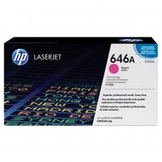 Заправка картриджа HP CF033A (646A) пурпурный magenta для HP CLJ CM4540