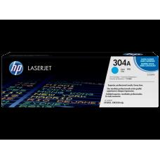 Заправка картриджа HP CC531A (304A) голубой cyan для HP CLJ CP2025/CM2320
