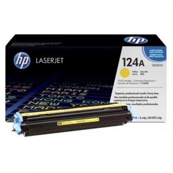 Заправка картриджа HP Q6002A (124A) yellow желтый для HP CLJ 1600/2600