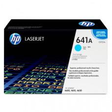 Заправка картриджа HP C9721A (641A) голубой cyan для HP CLJ 4600/4650