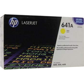Заправка картриджа HP C9722A (641A)  black черный для HP CLJ 4600/4650