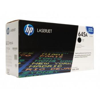 Заправка картриджа HP C9730A (645A) black черный для HP CLJ 5500/5550