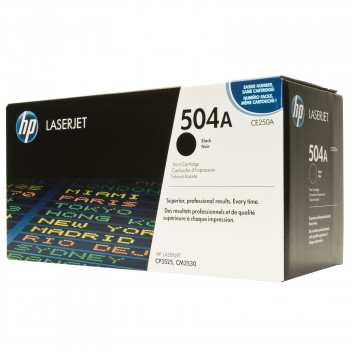 Заправка картриджа HP CE250A (504A)  black черный для HP CLJ CP3520/CM3530