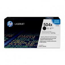 Заправка картриджа HP CE250X (504X)  black черный для HP CLJ CP3520/CM3530