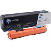 Заправка картриджа HP CF351A (130A) голубой cyan для HP LJ M176/M177