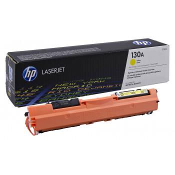 Заправка картриджа HP CF352A (130A) желтый yellow для HP LJ M176/M177