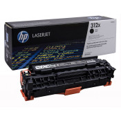 Заправка картриджа HP CF380X (312X) черный увеличенный black для HP LJ Pro M476