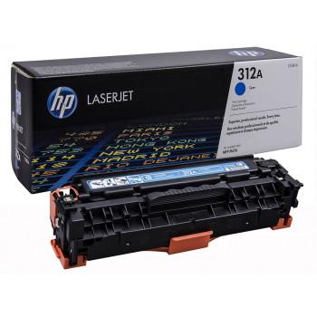 Заправка картриджа HP CF381A (312A) голубой cyan для HP LJ Pro M476