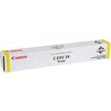 Заправка картриджа Canon C-EXV34 желтый для Canon iR C2020/C2030