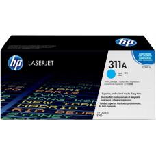 Заправка картриджа HP Q2681A (311A) голубой cyan для HP CLJ 3700