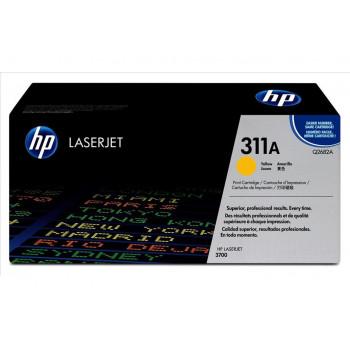 Заправка картриджа HP Q2682A (311A) желтый yellow для HP CLJ 3700