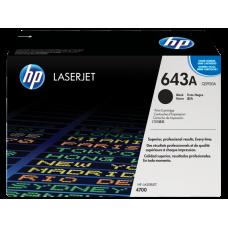 Заправка картриджа HP Q5950A (643A) black черный для HP CLJ 4700/4730