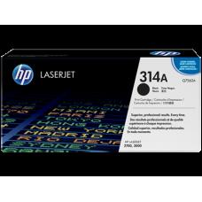 Заправка картриджа HP Q7560A (314A)  black черный для HP CLJ 2700/3000