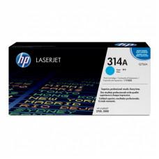 Заправка картриджа HP Q7561A (314A) голубой cyan для HP CLJ 2700/3000