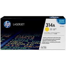 Заправка картриджа HP Q7562A (314A) желтый yellow для HP CLJ 2700/3000