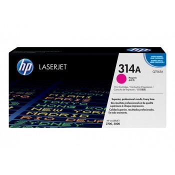 Заправка картриджа HP Q7563A (314A) пурпурный magenta для HP CLJ 2700/3000