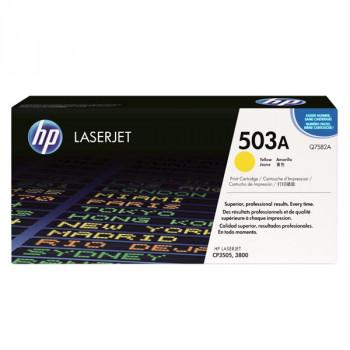 Заправка картриджа HP Q7582A (503A) желтый yellow для HP CLJ 3800
