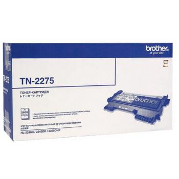 Заправка картриджа Brother TN-2275 для HL-2240R/HL-2240DR/HL-2250DNR/DCP-7060DR/DCP-7065DNR/DCP-7070DWR/MFC-7360NR/MFC-7860DWR/FAX-2845R/FAX-2940R